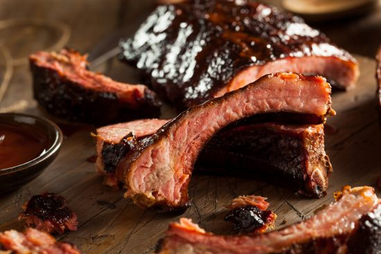 spareribs, smoked ribs, barbecue ribs,